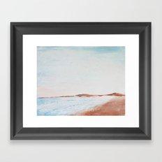 Ocean Shores Framed Art Print