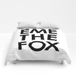 EME THE FOX Comforters