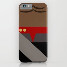 Worf - Minimalist Star Trek DS9 Deep Space Nine - Lieutenant Commander - startrek - Trektangles iPhone 6s Slim Case
