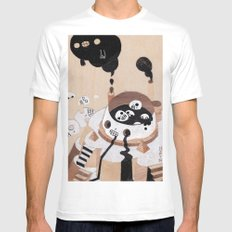 Doomsday I White MEDIUM Mens Fitted Tee