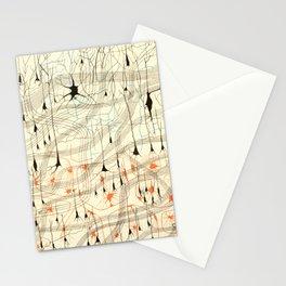 Nerve Cells Stationery Cards