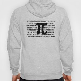 Pi Crunching Numbers Hoody