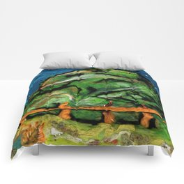Mysterious Hill Comforters