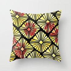 Geo Garden Throw Pillow