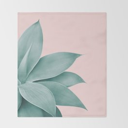 Agave Finesse #3 #tropical #decor #art #society6 Throw Blanket