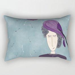The Fascinator Rectangular Pillow