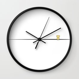 Dog Sidekick Wall Clock