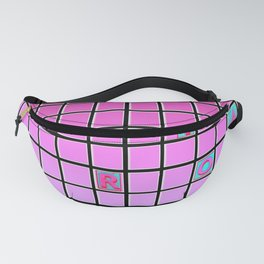 nope pink Fanny Pack
