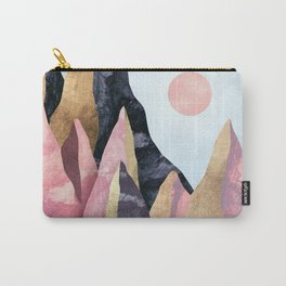 Mauve Peaks Carry-All Pouch