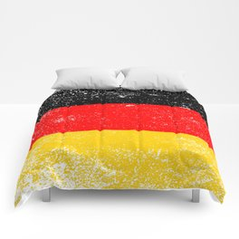 Flag of Germany Grunge Comforters