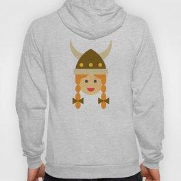 a viking girl Hoody