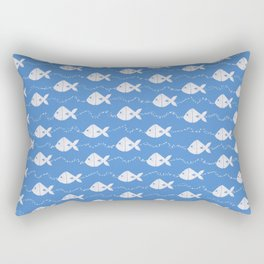 Happy Fishes Rectangular Pillow
