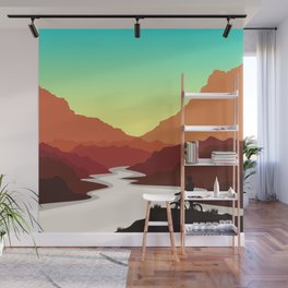 Mountain Bike Wall Mural