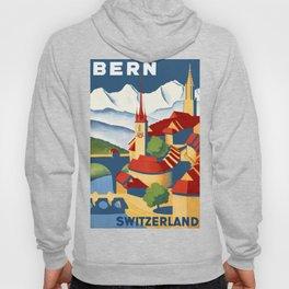 Vintage Bern Switzerland Travel Hoody