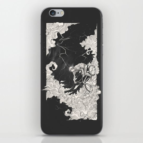 Ridin' The Storm Out iPhone & iPod Skin