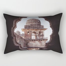 Jahaz Mahal Palace Rectangular Pillow