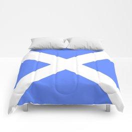flag of scotland 4– scotland,scot,scottish,Glasgow,Edinburgh,Aberdeen,dundee,uk,cletic,celts,Gaelic Comforters