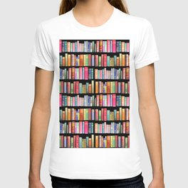 Vintage Book Library for Bibliophile T-shirt