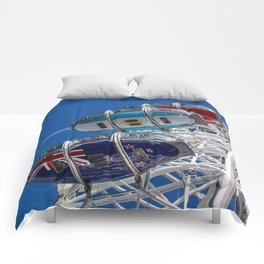 The London Eye and Jet Aircraft Comforters
