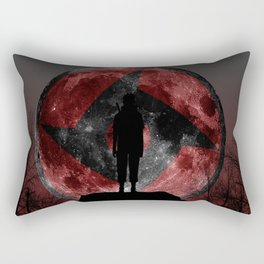 Uchiha Silhouette v2 Rectangular Pillow