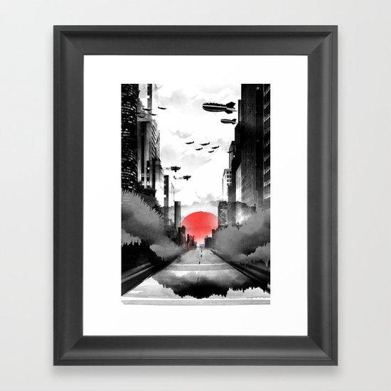 Still Rising Framed Art Print