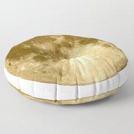 Golden Moonage Floor Pillow