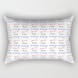motto of norway -alt for norge Rectangular Pillow