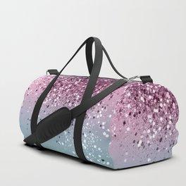 Unicorn Girls Glitter #6 #shiny #pastel #decor #art #society6 Duffle Bag