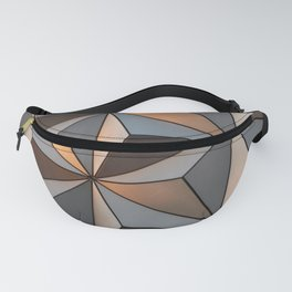 Triangle pattern 3d Fanny Pack