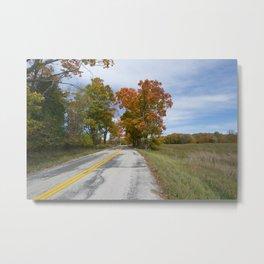 Ahnapee Fall Foliage Metal Print