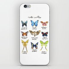 Exotic Moths iPhone & iPod Skin