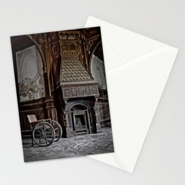lost fireplace Stationery Cards