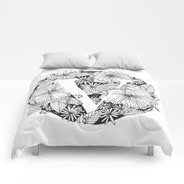 Flower V Comforters