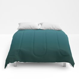 Blue Green Ombre Comforters