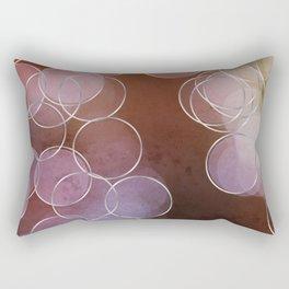 Light Rings Rectangular Pillow