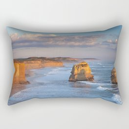 IV - Twelve Apostles on the Great Ocean Road, Australia at sunset Rectangular Pillow