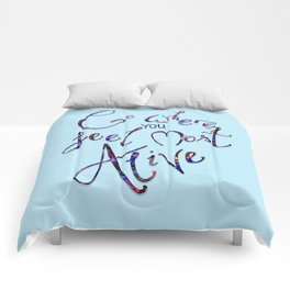 What makes you happy Comforters