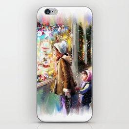 Christmas Greeting Card2 iPhone Skin