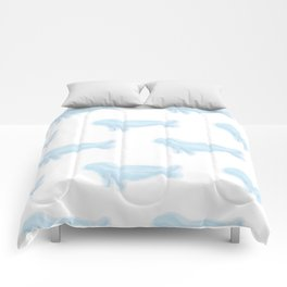 Pretty Watercolor Seals Comforters