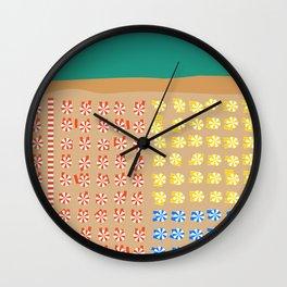 Positano, Amalfi Coast, Italy Wall Clock