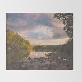 Sope Creek, Georgia Throw Blanket
