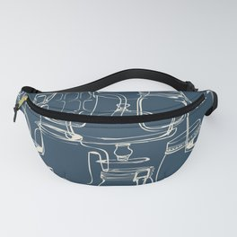glass containers Fanny Pack