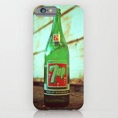 Nostalgic 7up bottle iPhone 6s Slim Case