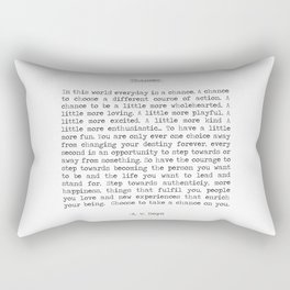Chances Rectangular Pillow