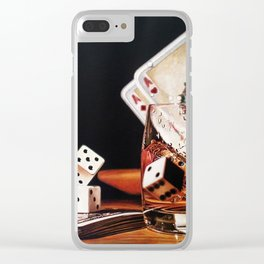 After Hours III Clear iPhone Case