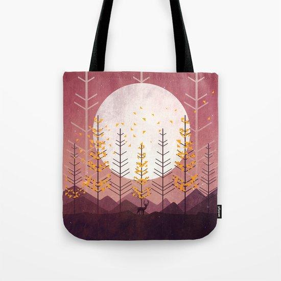 Sunset Mountain Tote Bag