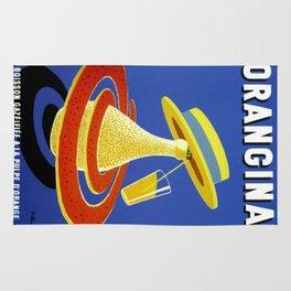 Vintage poster - Orangina Rug