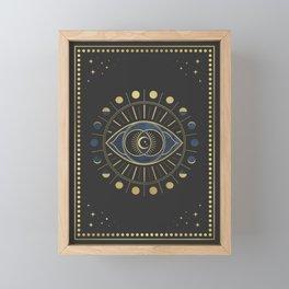The Third Eye or The Sixth Chakra Framed Mini Art Print