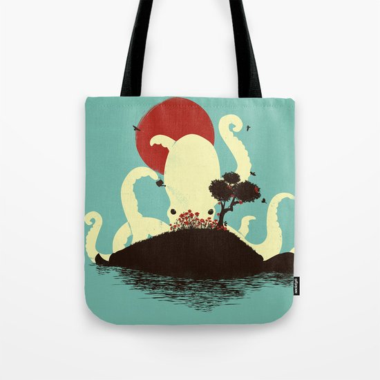 Octopus's Garden Tote Bag