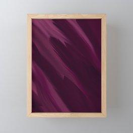 Shades of Violet Framed Mini Art Print